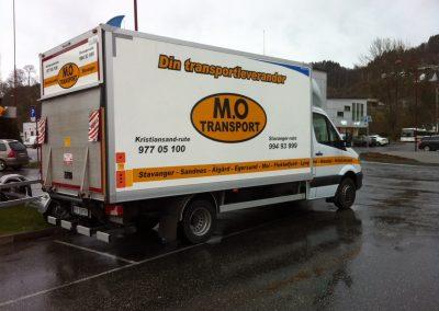 mo transport liten lastebil