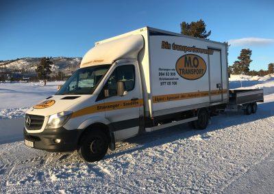 mo transport vinter-tilhenger